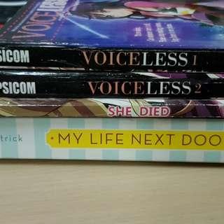 Books For Sale! Free ship My life Nxt Door Psicom Wattpad