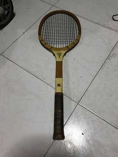 Tennis racket bamboo