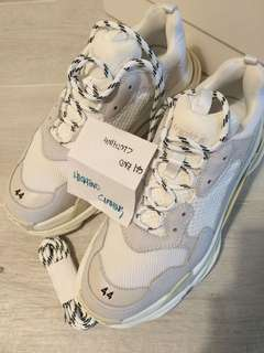 BALENCIAGA TRIPLE S | white | made in Italy
