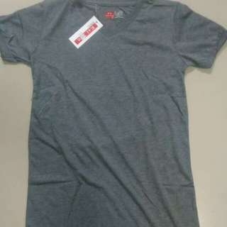 V-neck shirt. Muscle fit