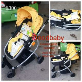 Goodbaby bassinet stroller