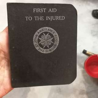 St john first aid pocket guide