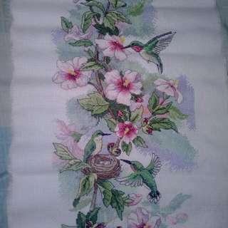 Hummingbird Cross Stitch (no frame)