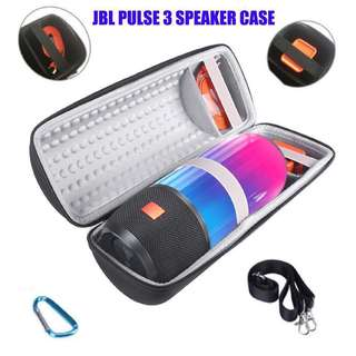 Instock JBL Pulse 3 Bluetooth Speaker Case Hard Case With Carabiner Hook