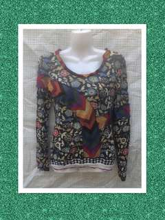 Pianura Studio Long sleeve top size 40 (Italian)
