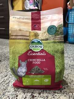Brand new oxbow chinchilla food 1.36kg