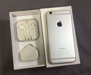 iPhone 6 16gb working perfect original silver&gold