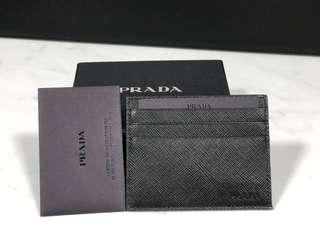 Prada Card Holder黑色