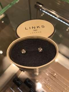 Links of London 925 Silver Earrings 全新