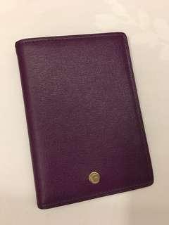 Furla leather passport cover