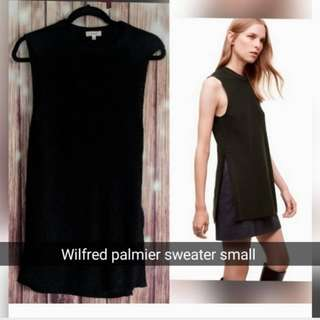 Wilfred Palmier sweater small blsck