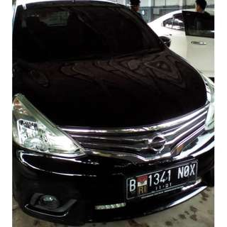 Nissan Grand Livina XV 2016.Matic,Hitam,Mulus,Terawat,Orisinil,Lengkap.