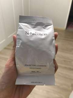 Sulwhasoo perfecting cushion brightening refill (medium pink no21)