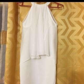 karimadon white elegant dress