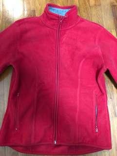 Women's Red Fleece Jacket