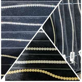 TENNIS DIAMOND BRACELETS 💎💎💎