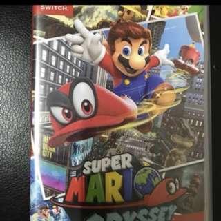 Switch Mario odyssey 換Arms/ Splatoon +$60 / Zelda