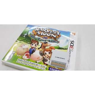 Nintendo 3DS Harvest Moon Lost Valley Free Ship