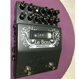 Two Notes Le Bass - 2 Channel Tube Bass Preamp