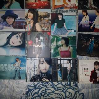 80% of Nana Mizuki album & singles collection