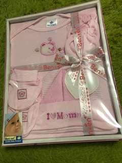 Gift004 little bear 5 pcs baby gift set
