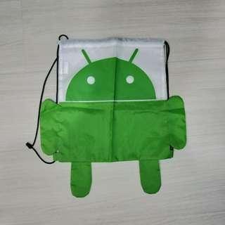 🚚 Google Android 後背束口袋