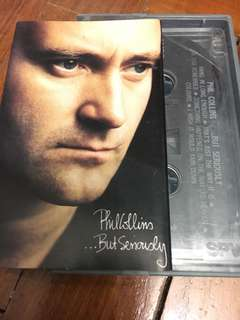 Phil Collins ...But Seriously Cassette Tape