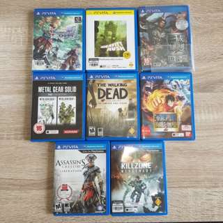PS Vita (PSV) Games for Sale