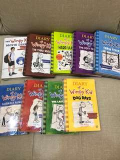 diary of a wimpy kid for sale!