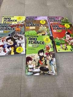 RAD SCIENCE comics!