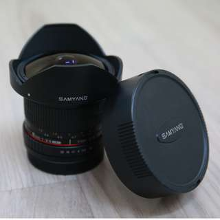 Samyang 8mm f/3.5 UMC Fish-eye CS II Lens <Canon Mount>