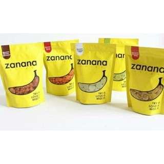 Zanana keripik pisang
