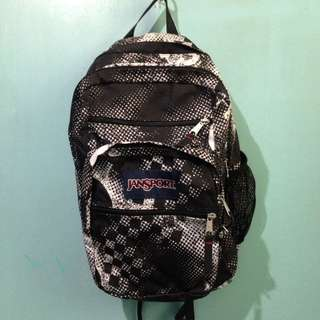 Jansport Backpack- Black White Fade