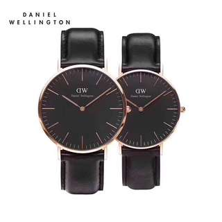 Daniel Wellington Couple watch classic black Sheffield 40mm&36mm