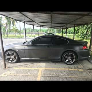 BMW 645Ci (A)  COUPE SAMBUNG BAYAR /CAR CONTINUE LOAN