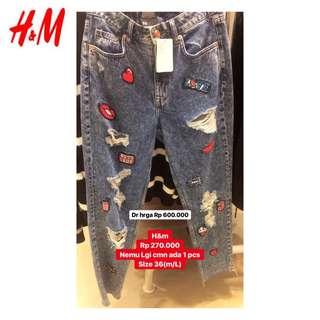 H&m celana jins (NEW)