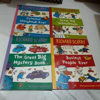 Richard Scarry The Busiest Books Ever!