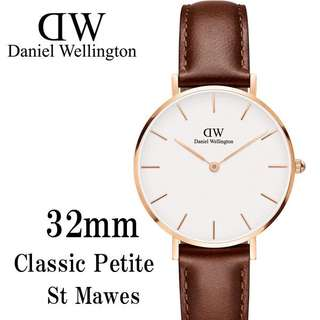 Daniel Wellington Watch 32mm classic petite white st Maves