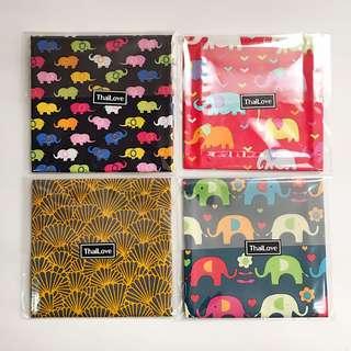 泰國絲質小方巾