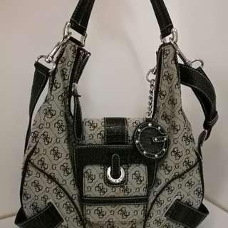 GUESS Logo bag, sling and shoulder