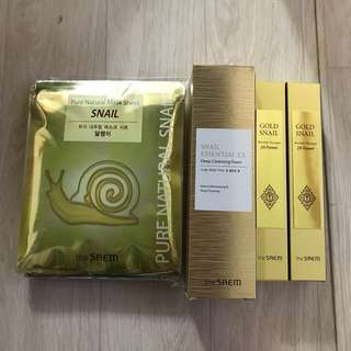 Snail Skin Care Package