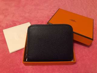 Hermes Silk'in Compact Wallet