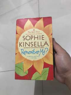 BOOK: Remember Me by Sophie Kinsella