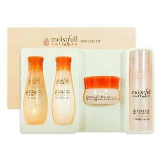 Etude moistfull collagen skincare kit