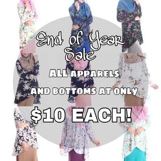 $10 Plus Size Apparels