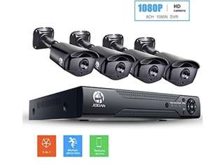 Jooan CCTV DVR with 4 cameras