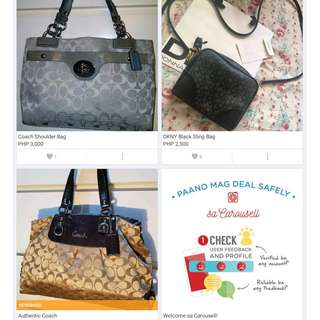 Coach Shoulder Bags and Wallet