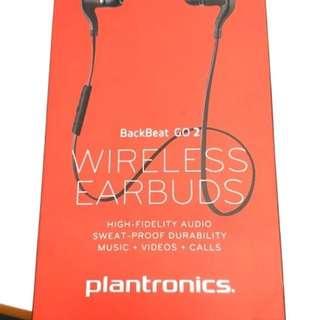 100%全新 Plantronics BackBeat GO 2 黑色