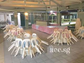Table Chair Rental. Event Decor