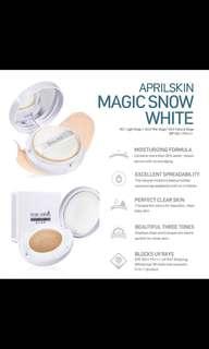 April Skin Magic Snow Cushion White #21 Light Beige